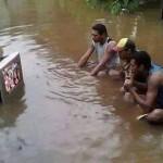 Nadi Townの洪水と、Flood Sale