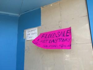 flood sale