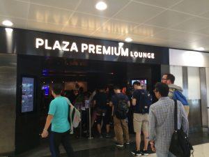 Plaza Premium Lounge in Hong Kong