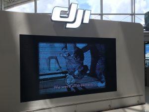 DJI in Hong Kong Air Port