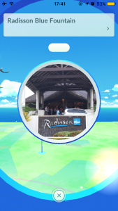 [Pokemon Go] Radisson Blue Fountain