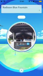 [Pokemon Go] Radisson Blue Fountain