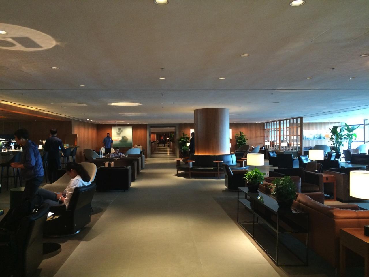 香港国際空港 キャセイパシフィック航空ビジネスラウンジ