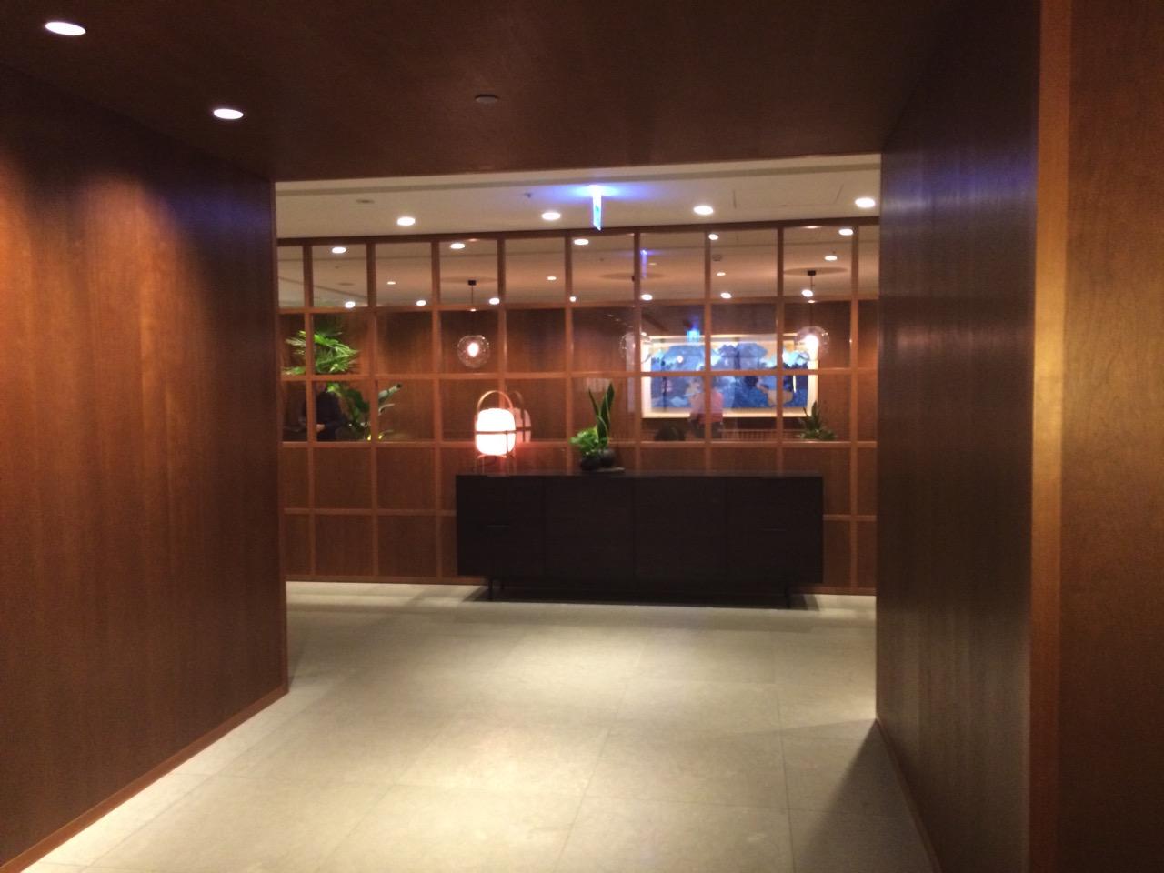 台湾桃園国際空港キャセイパシフィック航空ビジネスラウンジ