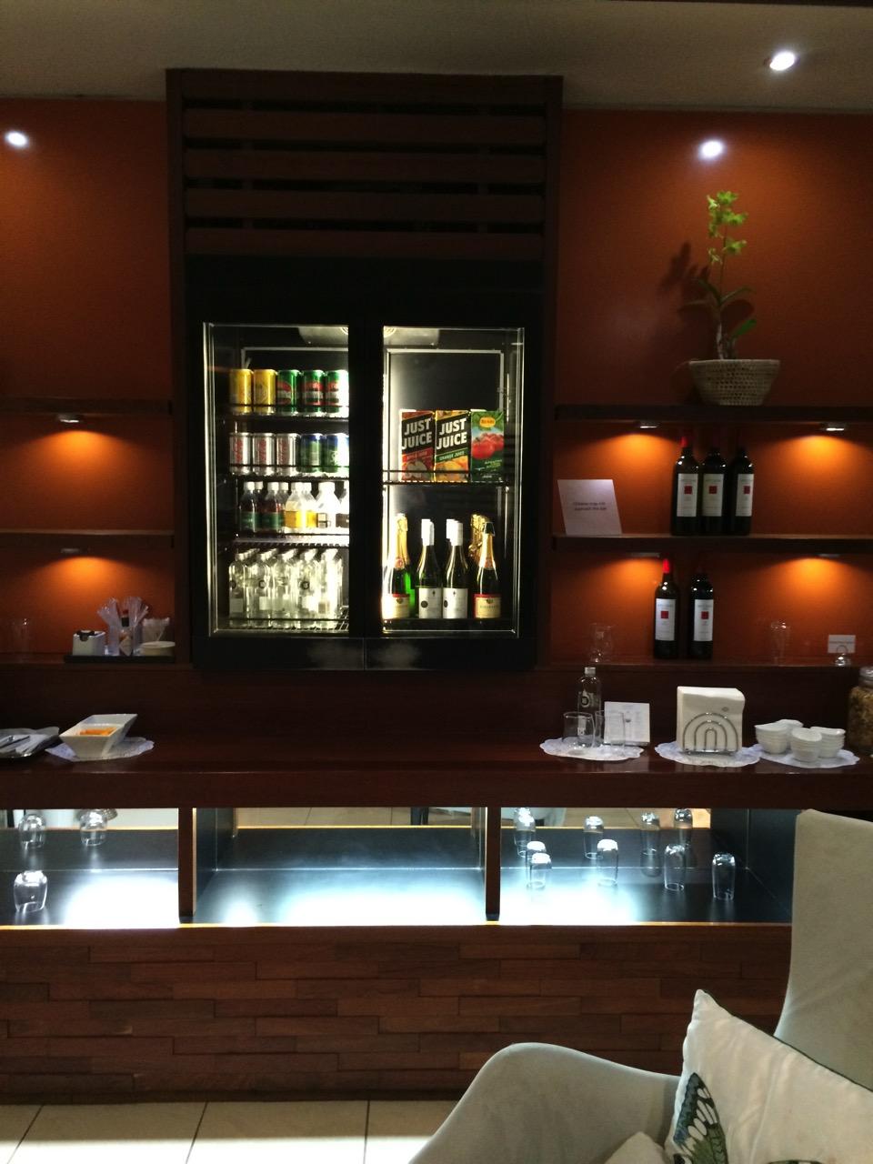 ナンディ空港ラウンジ Tabua Lounge