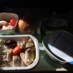 成田空港から韓国へ!昼の12時50分発KE702ではランチ(機内食)はでるのか。