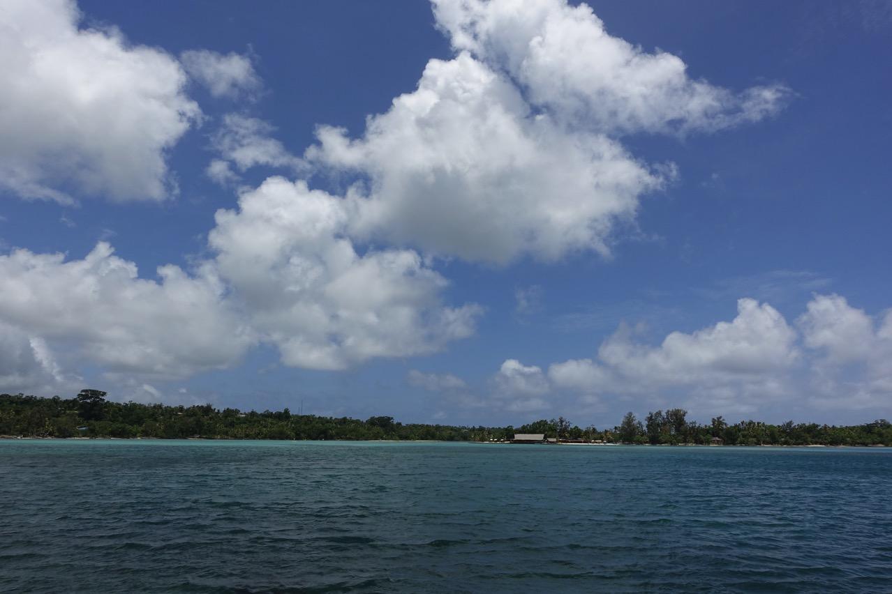 バヌアツ・エファテ島