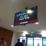 バヌアツ旅行記1 ナンディ国際空港からエファテ島到着まで