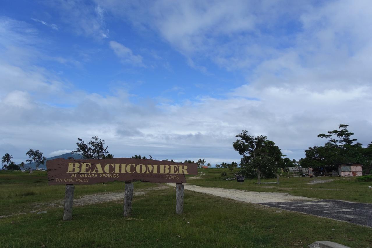 Beachcomber resort Hotspring