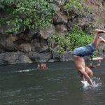 バヌアツ旅行記7 最も火口に近づける島 タンナ島 温泉